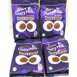 ***SPECIAL OFFER*** Cadbury 'DAIRY MILK BUTTONS ' 4 x 119g Bags + 2 EXTRA FREE