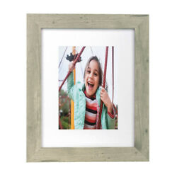 11x14Inch Grey Wood Photo Frame Picture Poster Frames Wall Hanging Home Decor