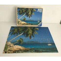Ravensburger Jigsaw Puzzle  - Tropical Scene -  500 Pieces - Complete w/ Photo