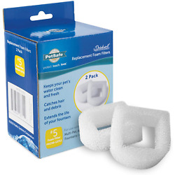 Petsafe Drinkwell Foam Filters for Dog/Cat Water Fountains 2 Pack