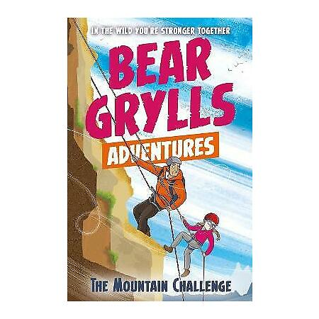 img-Bear Grylls Adventures, The Mountain Challenge By Bear Grylls NEW Paperback Book
