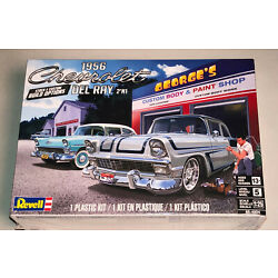 Revell 1956 Chevy Del Ray 2in1 1:25 scale model car kit 4504