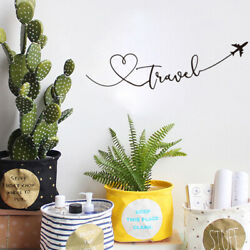 Wall Art Wall Sticker Travel Theme Wall stickers for Favorite Living Room