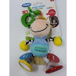 Playgro Dingly Dangly Clip Clop Baby Infant Toddler Attach Stroller 0+ NEW STEM
