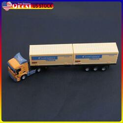 1:43 Transport Container Truck Alloy Vehicle Model Simulation Model Kid Toy N#S7
