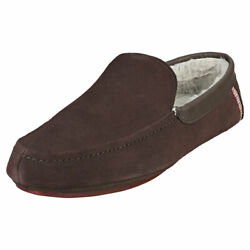Ted Baker Valant Mens Brown Slippers Shoes - 8 US