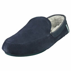 Ted Baker Valant Mens Navy Slippers Shoes - 9 US