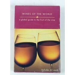 ''Wines of the World Cards'' 42 cards, Global Guide to the Fruit of the Vine