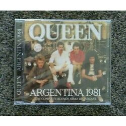Queen Argentina 1981, Complete Buenos Aires Broadcast, 2 CDs