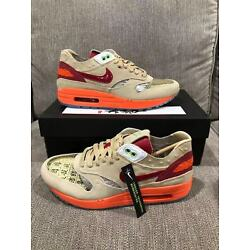 Nike x Clot Air Max 1 (2021) ''Kiss of Death'' Size 7.5 100% Authentic - Ship Now