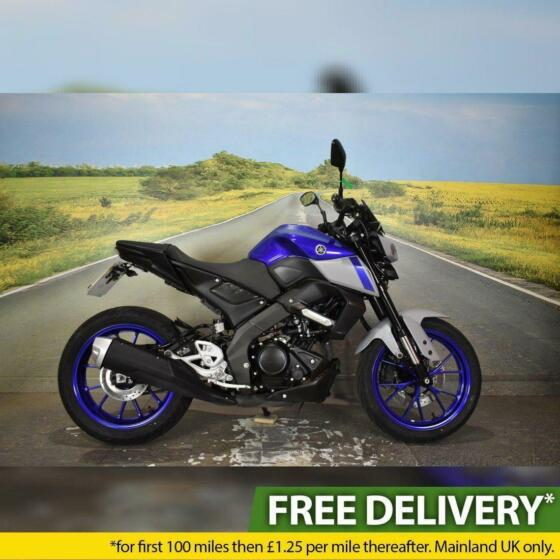 Yamaha MT 125 2021 - 1077 Miles, Tail Tidy, One Owner