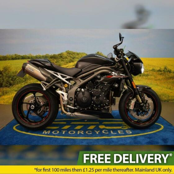 2020 Triumph Speed Triple RS 1050, All Books & Keys, Service History, Arrow Cans