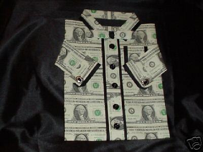 Real money gift men 39 s money shirt ebay for How to make a shirt with money