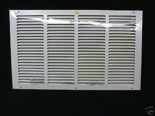 Return Air Grille 20 X 12 White 1 3 Quot Louver Flat Wall
