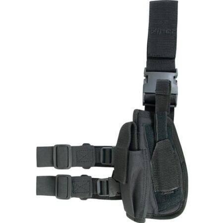 img-VIPER Drop Leg Holster LEFT Hand side - Air Pistol Airsoft Black Special Ops New