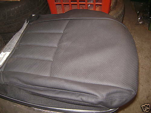 Mercedes c class leather seat base replacement cover ebay for Seat covers for mercedes benz c class