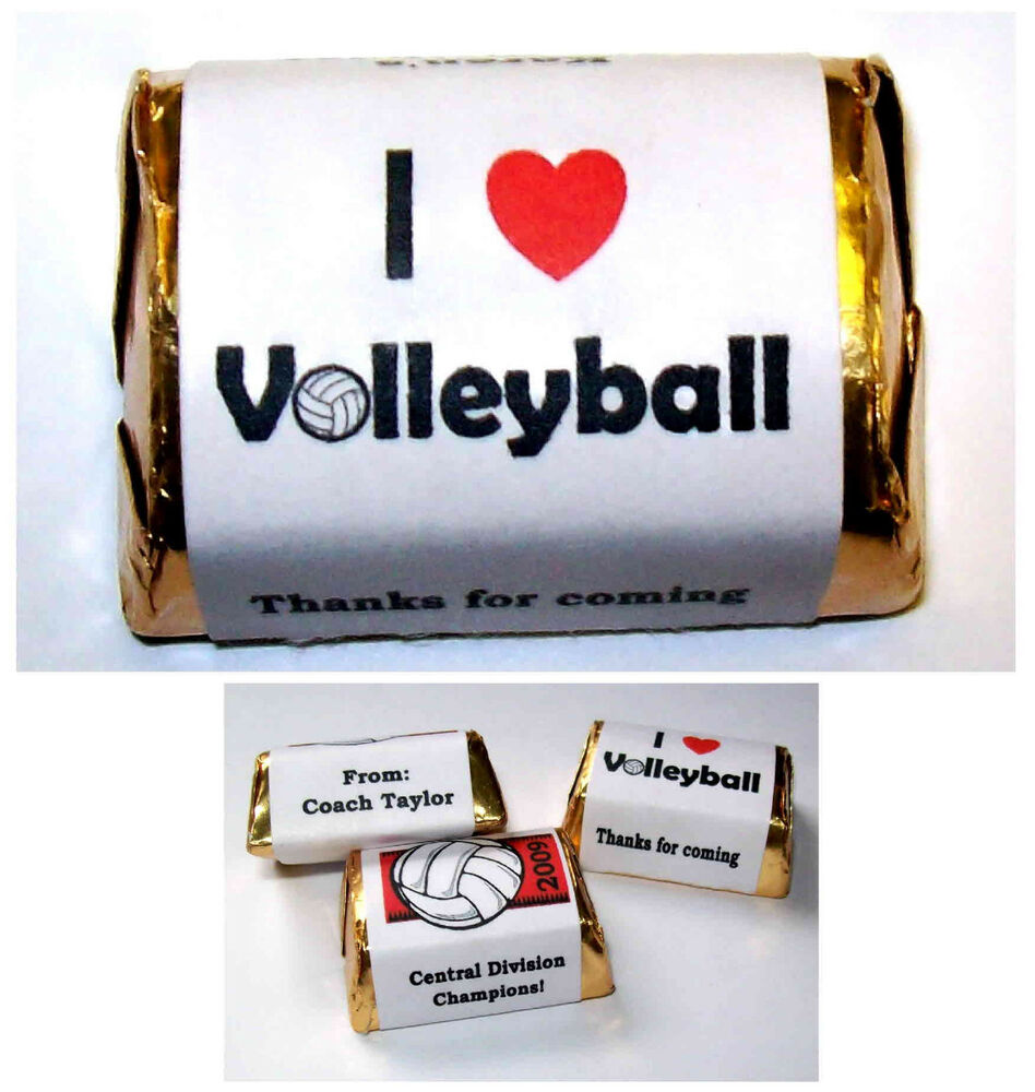 120 Volleyball Party Candy Wrappers Favors Any Occasion Ebay