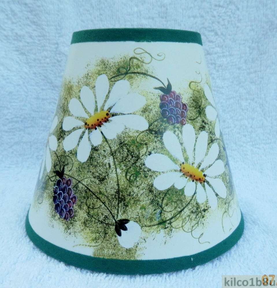 daisies paper mini chandelier lamp shade multi color. Black Bedroom Furniture Sets. Home Design Ideas