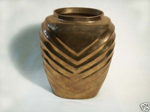 6 Inch Solid Brass Vase By Gatco In India Ebay