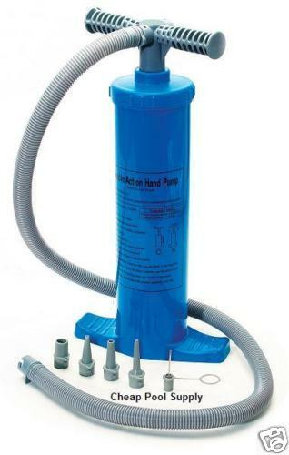 Magnapump Double Action Hand Pump Pool Inflatables Toys Ebay