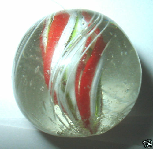 Color Glass Marble : Handmade quot glass toy marble orange green color ebay
