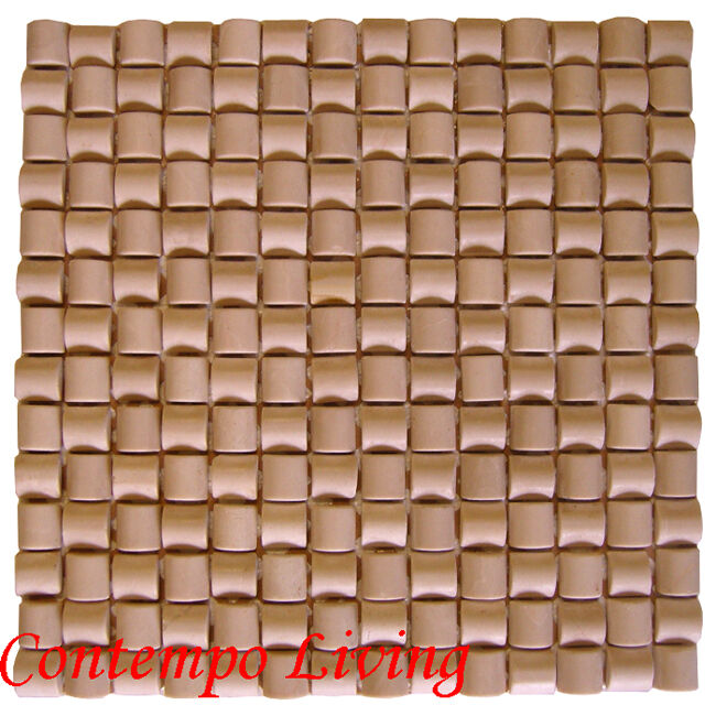 Bamboo Tiles For Bathroom: Marble Mosaic Tile Bamboo Pattern For Kitchen & Bath