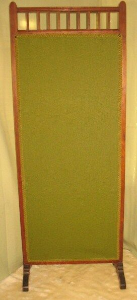 ANTIQUE VICTORIAN DRESSING FIREPLACE DIVIDER SCREEN | eBay