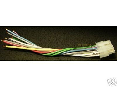 pioneer 12 pin 2x6 wire wiring harness deh 225 245 435 ebay. Black Bedroom Furniture Sets. Home Design Ideas