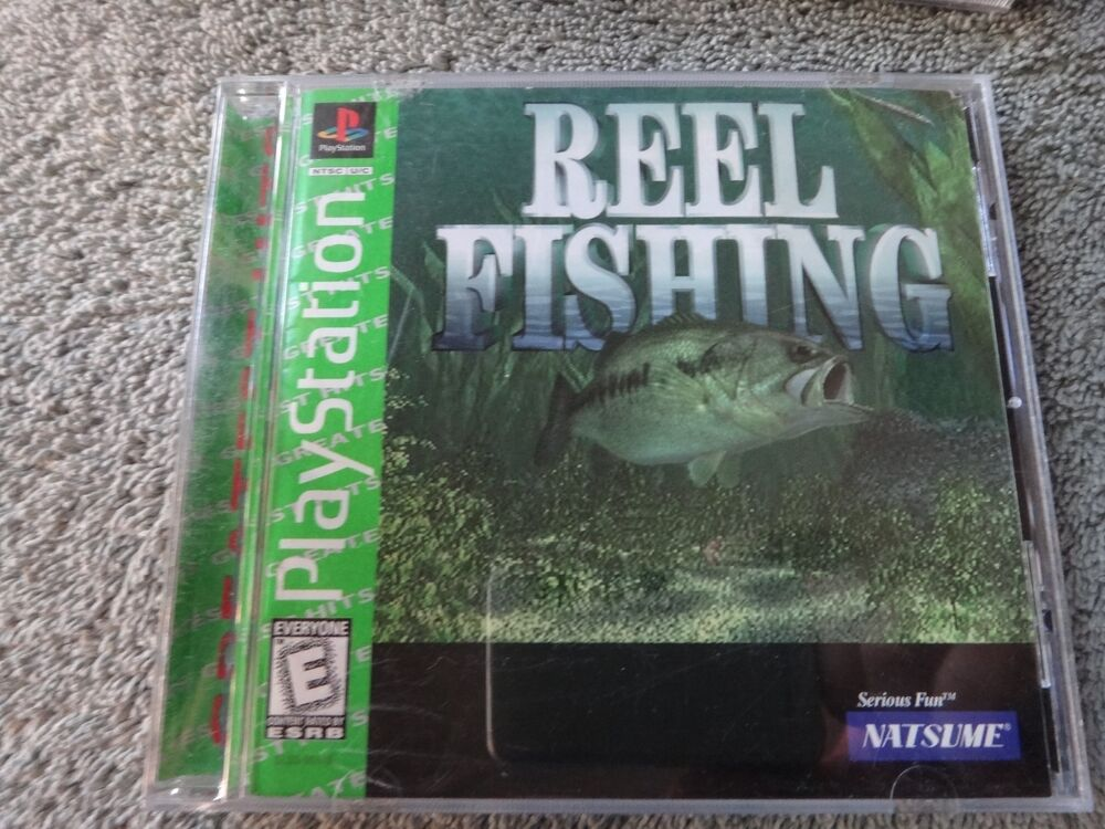 Reel fishing playstation game complete with case for Ps3 fishing games