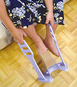 Heel Guide Compression Stocking Aid Help Apply Hose NEW