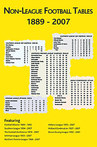 Non league football tables 1889 2007 soccer statistics - Football conference south league table ...