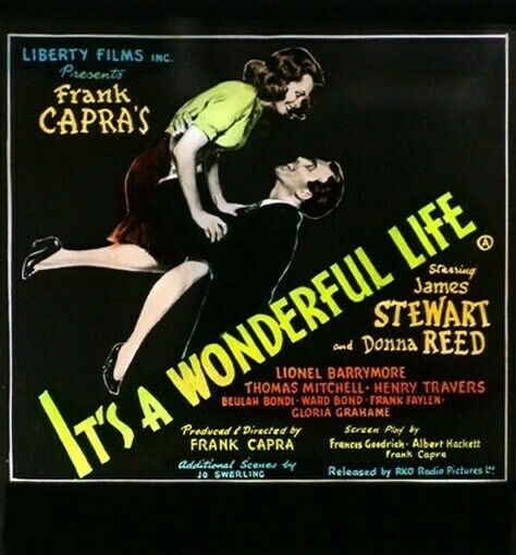 It 39 S A Wonderful Life Movie Poster James Stewart Ebay