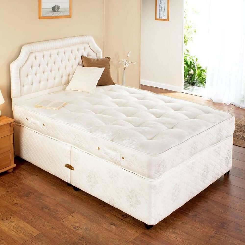 Special size 3ft x 5ft 9 orthopaedic divan bed sale ebay for What s a divan bed