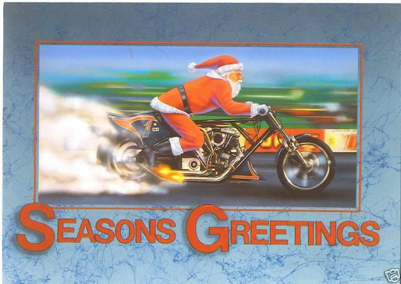 Harley Davidson Motorcycle Greeting Cards