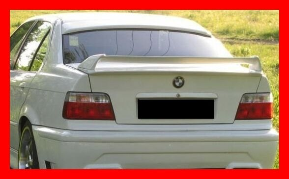 bmw 3 e36 rear boot spoiler twin tuning gt ebay. Black Bedroom Furniture Sets. Home Design Ideas