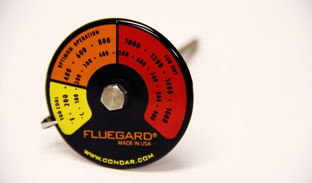 Probe Thermometer For Flue Pipes 3 39 Ebay