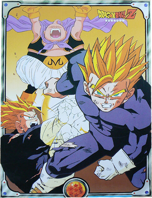 dragon ball z son gohan poster glossy laminated new ebay