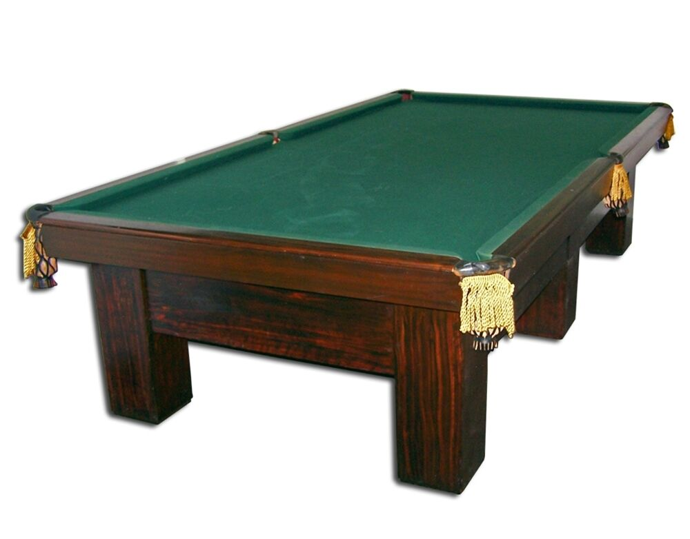 Vintage brunswick art deco billiard table circa 1930 4493 for Brunswick pool tables