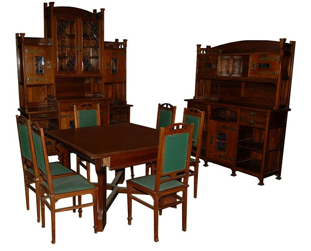 Arts And Crafts Dining Room Suite