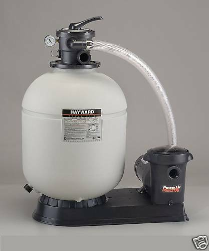 Hayward pro series pump and sand filter system s180t93s ebay for Obi sandfilterpumpe