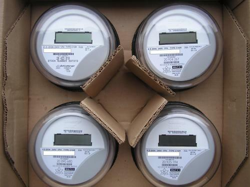 Itron  Watthour Meter  Kwh  C1sr  Centron  240v  200a  4