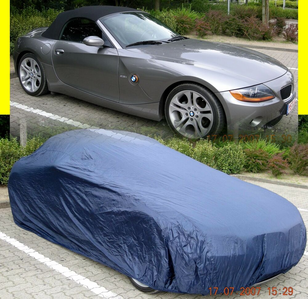 car cover autoabdeckung f r bmw z1 z3 z4 z4 m coupe roadster ebay. Black Bedroom Furniture Sets. Home Design Ideas