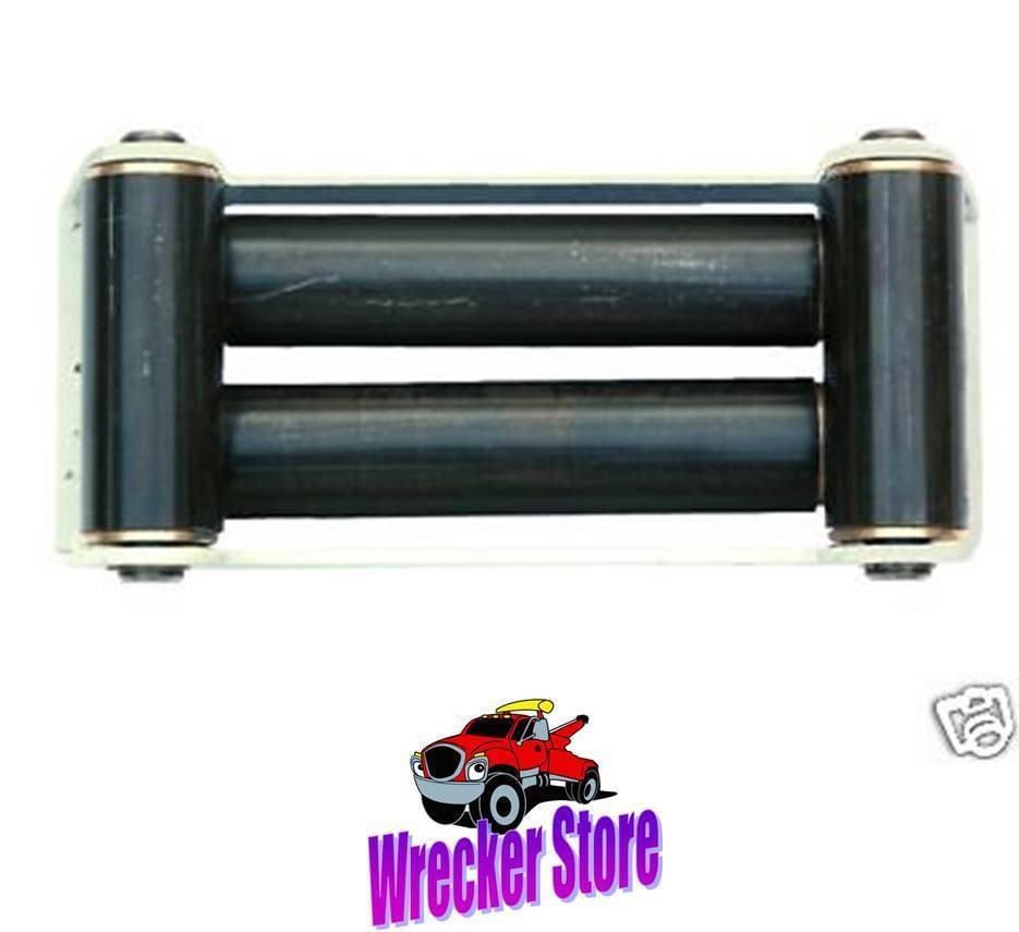 9 U0026quot  Roller Guide    Fairlead Winch Tow Cable Wire Rope For