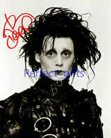 JOHNNY DEPP SIGNED / AUTOGRAPHED PHOTO PP EDWARD #63