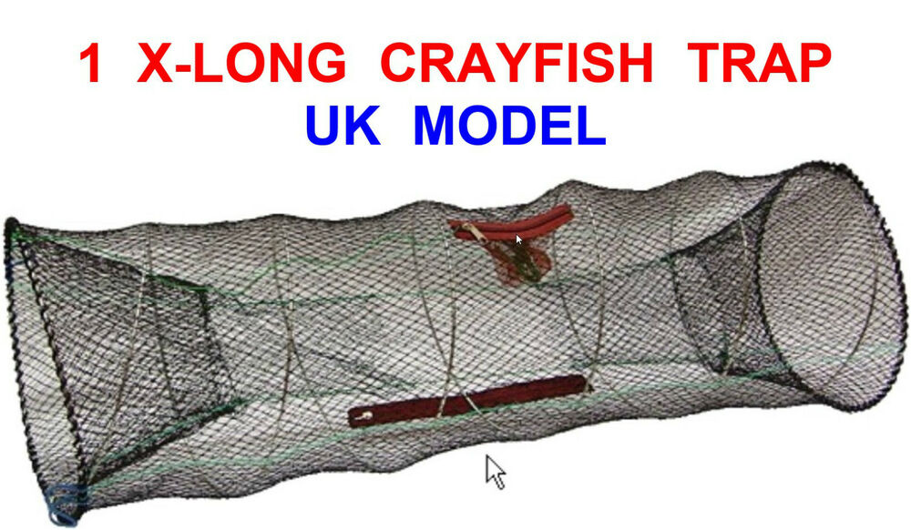 UK LEGAL KING SIZE CRAYFISH LOBSTER SHRIMP CRAB EEL LIVE BAIT TRAP NET CAGE POT | eBay