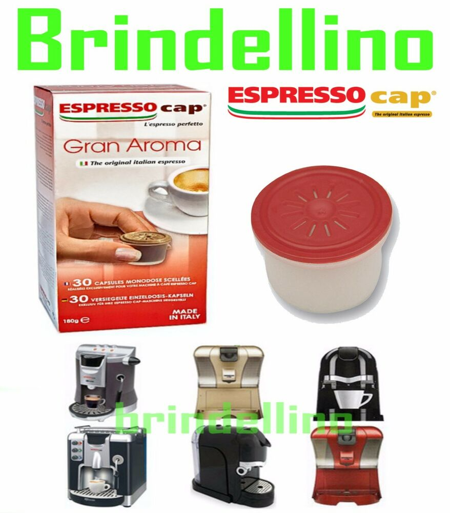 480 capsule espresso cap termozeta gran aroma ebay. Black Bedroom Furniture Sets. Home Design Ideas