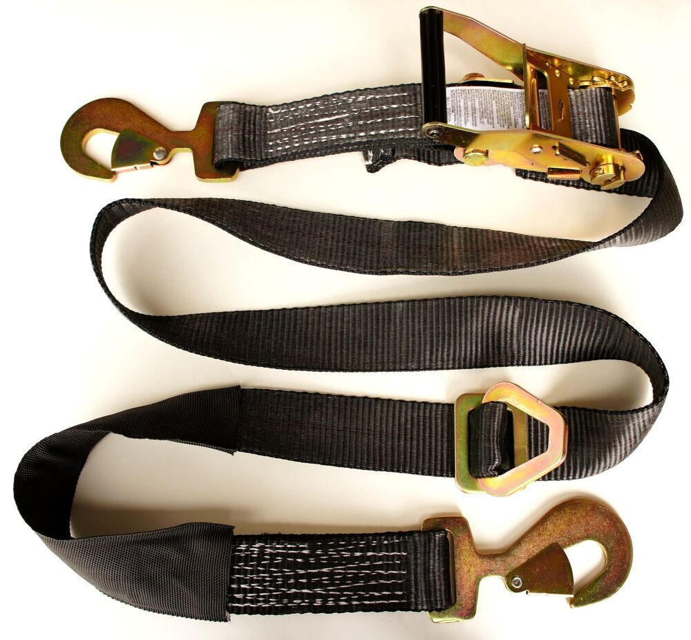 towing auto hauling recovery straps