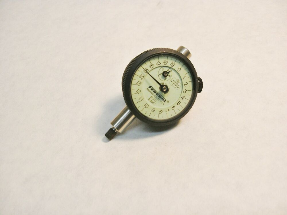 Federal Indicator Travel Products : Federal products dial indicator agd group model b q