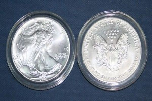 3 Airtite Coin Holder For American Silver Eagle Dollar Ebay