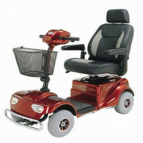 Heavy duty four 4 wheel power mobility electric scooter ebay for Motorized scooters for elderly